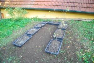 Nach dem Einbau und der Bepflanzung